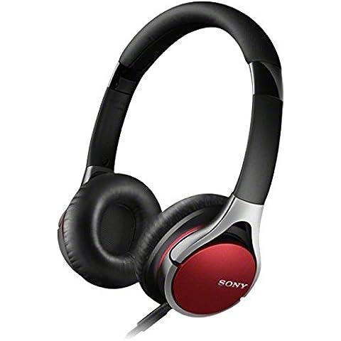 Sony MDR10RC - Auriculares de diadema cerrados, rojo