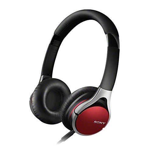 Sony MDR-10RC Cuffie On-ear, Audio Hi-Res, Rosso