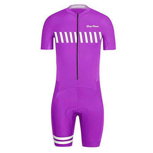 UGLYFROG BIKE WEAR DE MANGA CORTO MAILLOT WITH SHORT LEGS CICLISMO HOMBRE SKINSUIT WITH GEL PAD SUMMER STYLE 01