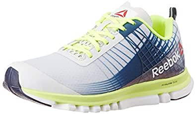 Reebok Men's Sublite Duo Speed Multi-color Mesh Running Shoes - 9 UK