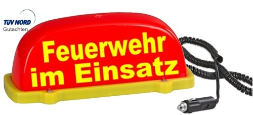 tetto-cartello-city-rosso-fluorescente-feuerwehr-im-einsatz-led-luce-lampeggiante-e-luce-fissa-umsch