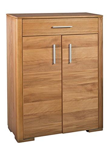 BFK Möbel Collection Malibu Vertiko Holz braun 36x83x115 cm