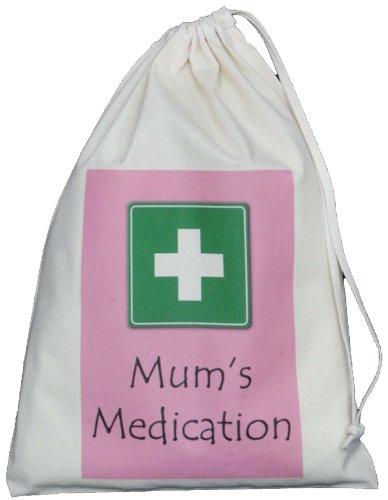 mums-medication-small-storage-bag-small-natural-cotton-drawstring-bag-supplied-empty