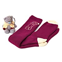 Me To You Tatty Teddy Bear Keyring and Welly Socks Gift Set
