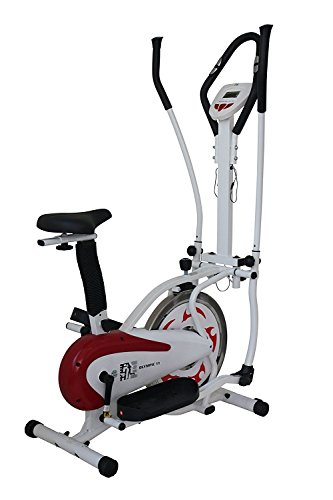 The Gym Life Cardio Fitness Elliptical Cross Trainer & Exercise Bike All Over Body Workout
