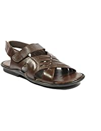 ICEBULL LEATHER Ice Bull Leather Sandal With Brown Color(JESL017) With Size(6-10) Sandals And Floaters For Mens...