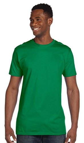 T-Rex Slider auf American Apparel Fine Jersey Shirt Grün - Kelly Green