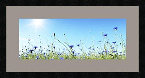 Cadres photos pêle mêle multivues 1 photo(s) 50x20 Passe Partout, Cadre photo mural 60x30 cm Noir, 3 cm de largeur