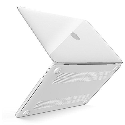 """MoKo MacBook Pro 13 Case 2016, Custodia Protettiva Rigida PC Sottile per Nuovo Apple MacBook Pro 13"""" A1706 / A1708 (con e senza Touch Bar, Uscita 2016), Bianco Traslucido"""
