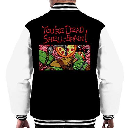 Cloud City 7 Youre Dead Shell Brain Ninja Gaiden Turtles Men's Varsity Jacket