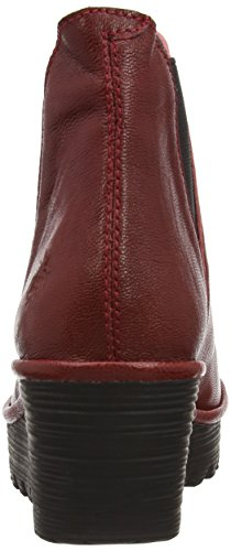 Fly London Yoss Mousse, Bottes Femme Rouge (Cordoba Red)