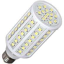 Ledbox LD1030548 - Bombilla 86 LEDs, E27, 15 W, SMD 5050, color blanco cálido