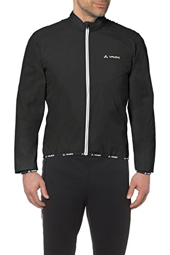 VAUDE Herren Windjacke II, black, XL, 04602 Windstopper