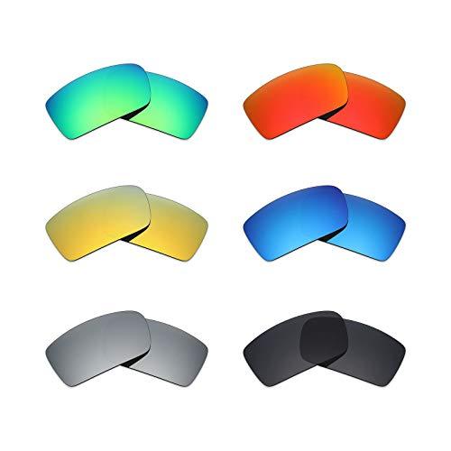 MRY 6Paar Polarisierte Ersatz Gläser für Oakley Sonnenbrille Gascan