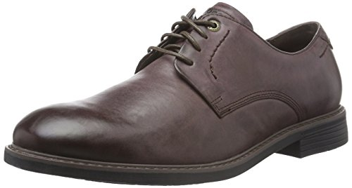 Rockport - Classic Break Plain Toe, Scarpe stringate Uomo Marrone (Marrone (Choc))
