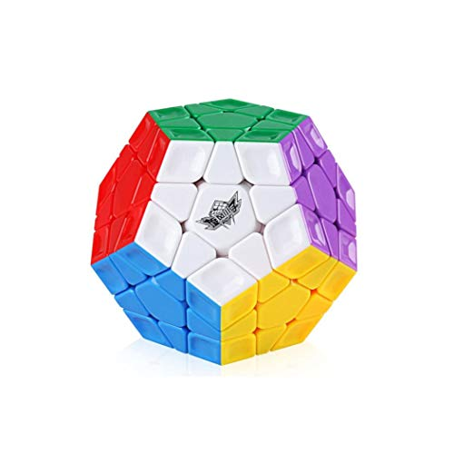 Ludokubo Dodekaeder Speedcube Cyclone Boys Rainbow Megaminx 3x3 - Stickerless (Cyclone Boys 3x3x3)