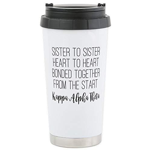 CafePress-Kappa Alpha Theta-Thermobecher Edelstahl, isoliert 16Oz Coffee Tumbler Alpha-tumbler
