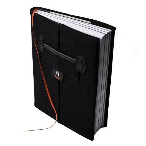 FHB Notizbuch komplett Rolf, schwarz, 94000-20-