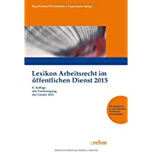 Lexikon Arbeitsrecht im öffentlichen Dienst 2015