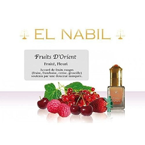 EL NABIL - MUSC FRUITS D'ORIENT 5ml - LOT DE 6