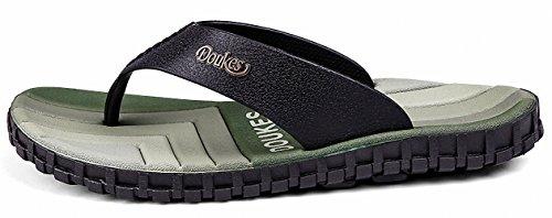 Ben Sports Tong Sandales de marche Chaussures de Homme,40-48 E - Vert