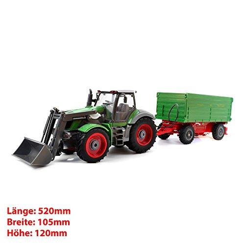 RC ferngesteuerter Traktor mit Anhänger - 6