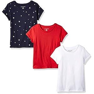 Amazon Essentials 3-Pack Short-Sleeve tee Niñas 12