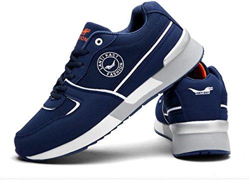 Lfeu Chaussures De Course À Pied Pour Homme Bleu
