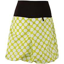 dunkle design Damen Rock Ballonrock A-Linie aus Baumwolle 0cf610f4ff