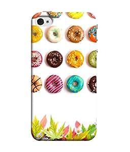 PrintVisa Designer Back Case Cover for Apple iPhone 5S (Candy festival colourful sweet celebration)