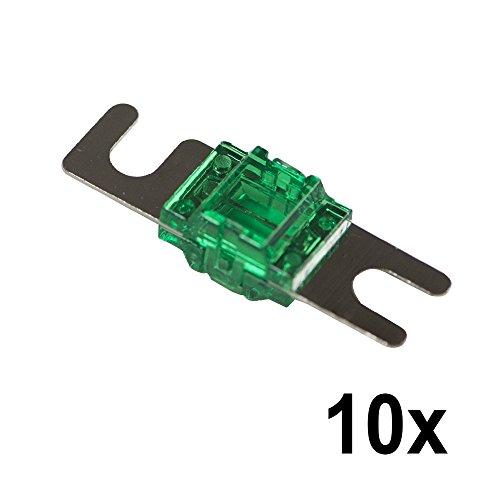 Stinger SELECT SSMIDI125B 125A Mini ANL Sicherung, 10 Stück Anl Stinger