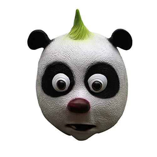 Mongrep Halloween Panda Kopf Gesichtsmasken Festivals Kostüm Ball Masken Kleidung