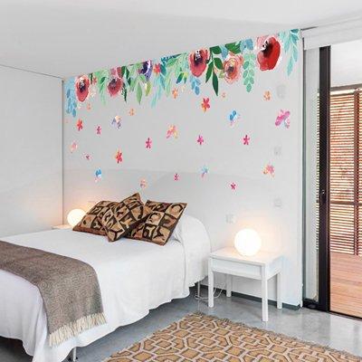RUIPENGPENG Wandbild Zitat Aufkleber Aufkleber wasserdicht Abnehmbare für Wohnzimmer TV Hintergrund Kinder Baby Nursery die Zeichen Zeichen stilvollen personalisierte Poster 57 × 37,5 cm