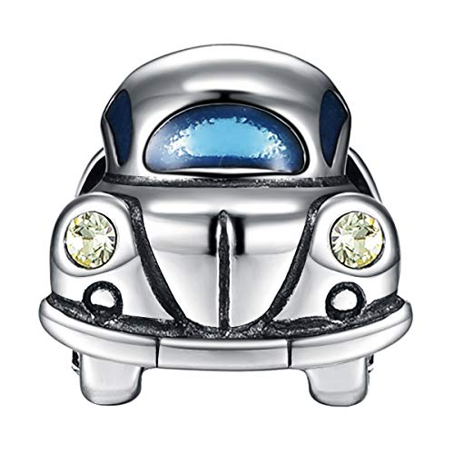 925 Sterling Silber Charms Auto passt für Pandora Armband Geschenk für Familie/Freund -