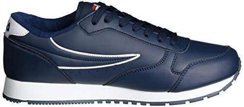 Fila Hommes Base Orbit Low, Sneaker Uomo Blu (robe Bleu)