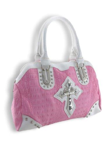 Things2Die4 , Damen Schultertasche, rosa - rose - Größe: One Size -