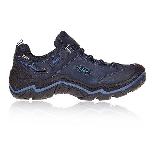 Keen Wanderer WP, Chaussures de Randonnée Basses Homme Navy blue