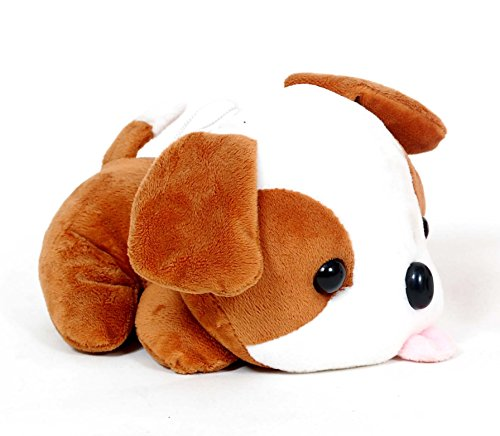 Skylofts Cute Stuffed Dog Animal With Tongue Out Soft Toy (22Cm)