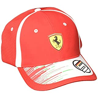 Puma Erwachsene SF Replica Vettel Kappe Rosso Corsa One Size