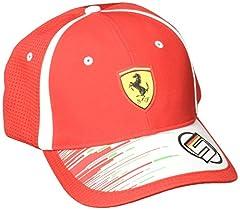Idea Regalo - Puma SF Replica Vettel, Berretto Unisex Adulto, Rosso Corsa, Taglia Unica