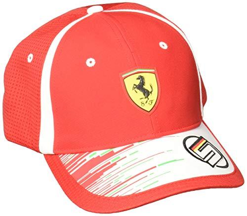 Puma SF Replica Vettel Chapeau Mixte, Rosso Corsa, Taille Unique