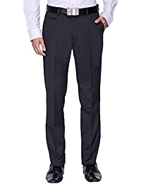 Stop By Shoppers Stop Mens 5 Pocket Slub Formal Trousers - B06X6HK665