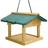 SmashingDealsDirect Hanging Wooden Bird Table