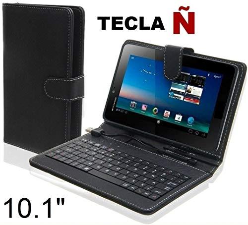 SUNING Funda Teclado Tablet 10