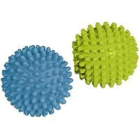 Xavax Temperaturbeständige Trocknerbälle, 2 Stück, blau/ grün