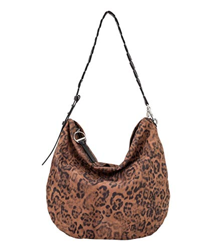 Liebeskind Berlin Damen Dive Bag 2 Leo-Hobo Medium Schultertasche, Braun (Tiger's Eye), 4x41x41 cm