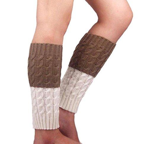 Calcetines de Piernas Tejidos