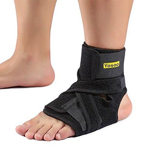 Supporto Caviglia regolabile Traspirabile per stabilizzatrice ridurre piedi legamenti Tendini Slogature Pregiudizio Esercizio Infortunio