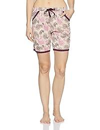Jockey Women's Modal Shorts (RX10-0103-RL053_Multicoloured_S)
