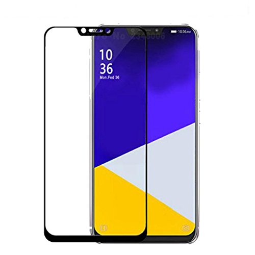 Price comparison product image for Asus Zenfone 5 ZE620KL Screen Protector - Black Full Cover Screen Tempered Glass, 2PACK Protective Film for Asus ZF5 ZE620KL